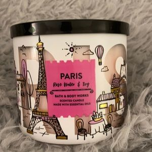 Paris Rose Water & Ivy Bath & Body Works candle